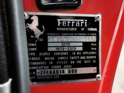Ferrari 308 GTBi - <small></small> 66.990 € <small>TTC</small> - #36