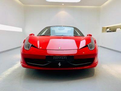 Ferrari 458 Italia V8 4.5 Spider - <small></small> 199.900 € <small>TTC</small>
