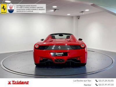 Ferrari 458 Italia V8 4.5 Spider - <small></small> 184.900 € <small>TTC</small>