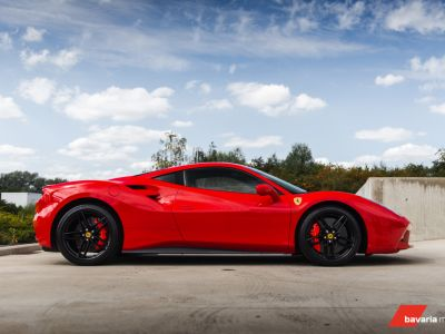 Ferrari 488 GTB ROSSO CORSA METALLIC *CARBON* Power Warranty - <small></small> 193.900 € <small>TTC</small> - #12
