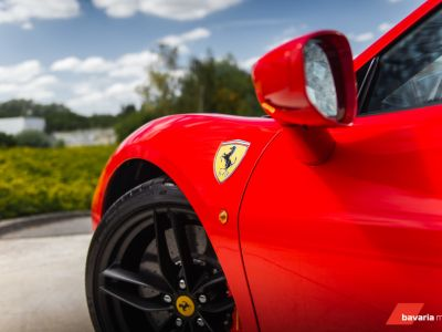 Ferrari 488 GTB ROSSO CORSA METALLIC *CARBON* Power Warranty - <small></small> 193.900 € <small>TTC</small> - #22