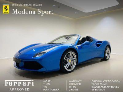 Ferrari 488 Spider V8 3.9 T 670ch - <small></small> 219.900 € <small>TTC</small> - #1