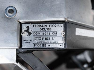 Ferrari 512 BB *Fully restored* - <small></small> 349.000 € <small>TTC</small> - #29