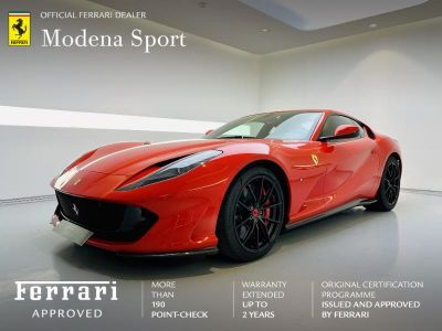 Ferrari 812 Superfast V12 6.5 800ch - <small></small> 339.900 € <small>TTC</small>