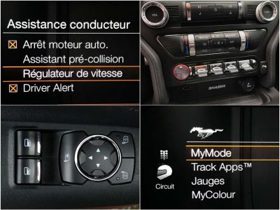 Ford Mustang 2.3i EcoBoost BVA-10 SPORT ÉDITION FULL OPTIONS - <small></small> 34.950 € <small>TTC</small> - #11