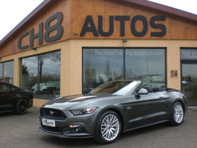 Ford Mustang 5.0 CABRIOLET PACK PREMIUM 2016 - <small></small> 41.900 € <small>TTC</small> - #4