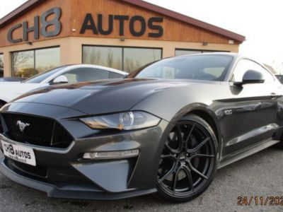 Ford Mustang V8 5.0 GT 450 ch Fastback Boite auto Phase 2 Gris magnetic Pack premium - <small></small> 47.900 € <small>TTC</small> - #1