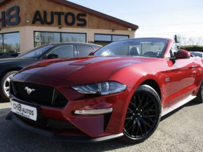 Ford Mustang V8 5.0 GT Cabriolet Boite automatique 15195kms Système Audio bang&olufsen - <small></small> 54.900 € <small>TTC</small> - #1