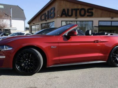 Ford Mustang V8 5.0 GT Cabriolet Boite automatique 15195kms Système Audio bang&olufsen - <small></small> 54.900 € <small>TTC</small> - #2