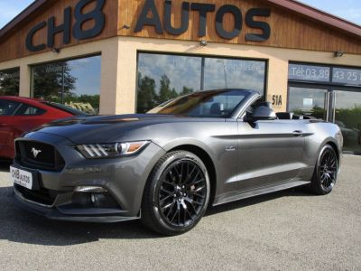 Ford Mustang V8 5.0 GT Cabriolet jantes noir Boite auto 12620kms - <small></small> 42.900 € <small>TTC</small> - #1