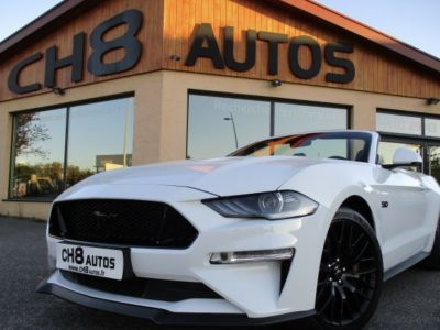 Ford Mustang V8 5.0 GT CABRIOLET pack premium phase 2 450ch cabriolet 12900kms 2018 - <small></small> 52.900 € <small>TTC</small> - #2