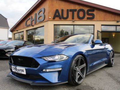 Ford Mustang V8 5.0 GT CABRIOLET Pack premium Phase 2 450ch cabriolet 2018 JANTES 20″ - <small></small> 54.900 € <small>TTC</small> - #1