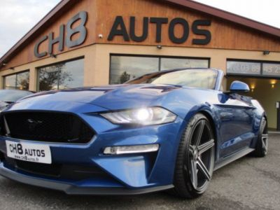Ford Mustang V8 5.0 GT CABRIOLET Pack premium Phase 2 450ch cabriolet 2018 JANTES 20″ - <small></small> 54.900 € <small>TTC</small> - #2