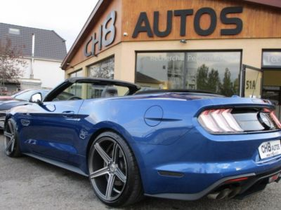 Ford Mustang V8 5.0 GT CABRIOLET Pack premium Phase 2 450ch cabriolet 2018 JANTES 20″ - <small></small> 54.900 € <small>TTC</small> - #5