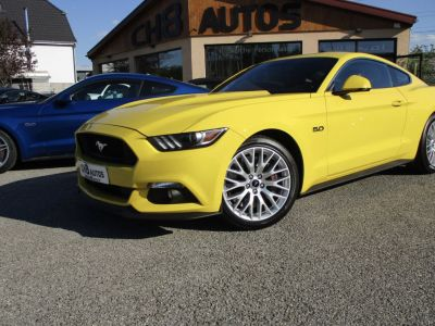 Ford Mustang v8 5.0 gt fastback 34112kms pack premium - <small></small> 40.900 € <small>TTC</small> - #1