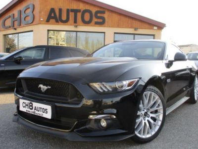 Ford Mustang v8 5.0 gt fastback pack premium noir - <small></small> 39.900 € <small>TTC</small> - #2