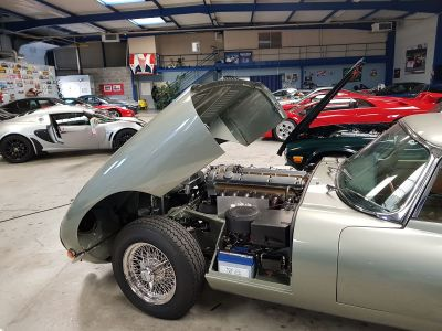 Jaguar E-Type TYPE E SERIE 1 3.8L - Prix sur Demande - #9