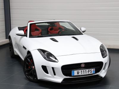 Jaguar F-Type F TYPE CABRIOLET 340 CH - <small></small> 47.900 € <small>TTC</small> - #8