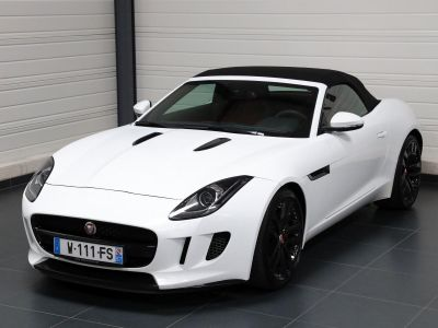 Jaguar F-Type F TYPE CABRIOLET 340 CH - <small></small> 47.900 € <small>TTC</small> - #17