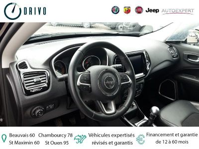 Jeep Compass 1.4 MultiAir II 140ch Limited 4x2 - <small></small> 22.980 € <small>TTC</small> - #6