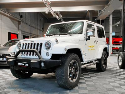 Jeep Wrangler JEEP WRANGLER II 2.8l CRD 200 SAHARA AUTO - <small></small> 35.500 € <small>TTC</small>