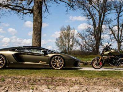 Lamborghini Aventador V12 LP700-4 - 1 OWNER - FULL - BELGIAN CAR - <small></small> 299.950 € <small>TTC</small> - #4
