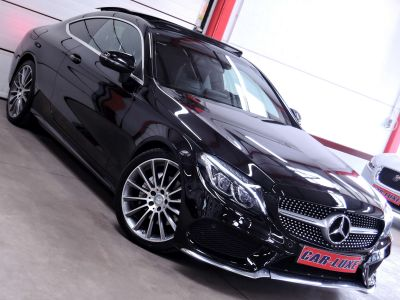 Mercedes Classe C 220 COUPE D 163CV PACK AMG PANORAMIQUE GPS CUIR ILS HD - <small></small> 27.950 € <small>TTC</small> - #9