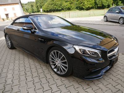 Mercedes Classe S 500 Cabriolet AMG Line, Pack Exclusif, TV, Caméra 360°, Carbone, Distronic - <small></small> 89.900 € <small></small>
