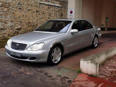Mercedes Classe S MERCEDES CLASSE S V 600 LIMOUSINE BVA 43CV - <small></small> 19.999 € <small>TTC</small> - #1