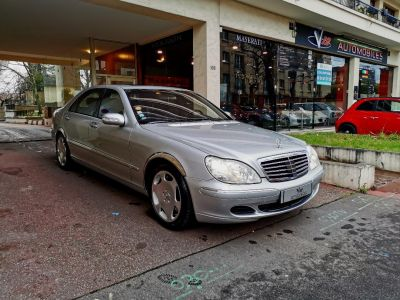 Mercedes Classe S MERCEDES CLASSE S V 600 LIMOUSINE BVA 43CV - <small></small> 19.999 € <small>TTC</small> - #3