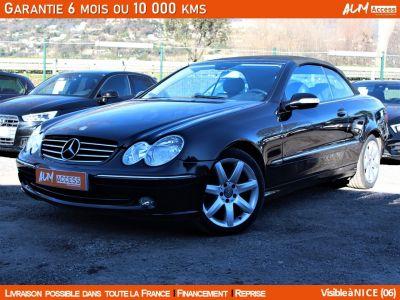 Mercedes CLK CABRIOLET AVANTGARDE 200 1.8 163 - <small></small> 7.990 € <small>TTC</small> - #1
