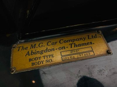 MG TD Mark II roadster Kompressor - <small></small> 49.900 € <small>TTC</small>