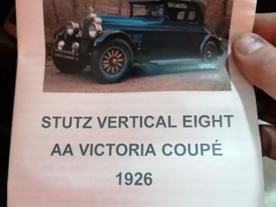 Porsche 356 STUTZ VERTICAL EIGHT AA VICTORIA COUPE 1926 - <small></small> 92.000 € <small>TTC</small> - #12