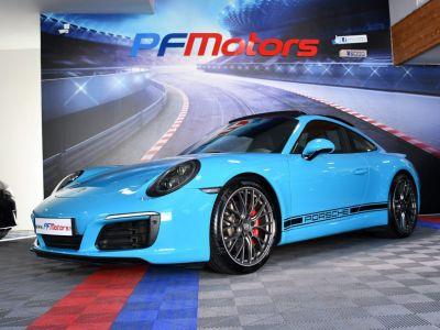 Porsche 911 991 Phase 2 Carrera S PDK 3.0 Turbo 420 GPS BOSE Caméra PDLS Pack Chrono TO Echappement Sport JA 20 - <small></small> 104.991 € <small>TTC</small> - #5