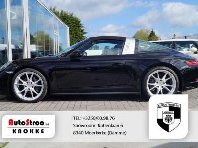 Porsche 911 Targa 4 3.0 991 phII NAVI ADAPT CRUISE SPORTUITLAAT - <small></small> 113.000 € <small>TTC</small> - #6