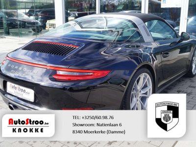 Porsche 911 Targa 4 3.0 991 phII NAVI ADAPT CRUISE SPORTUITLAAT - <small></small> 113.000 € <small>TTC</small> - #7