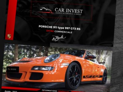 Porsche 911 type 997 gt3 rs tat exceptionnel1 - <small></small> 129.900 € <small>TTC</small> - #1