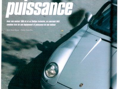 Porsche 993 3.8 Cabriolet X51 - <small></small> 135.000 € <small>TTC</small> - #12