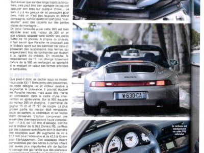 Porsche 993 3.8 Cabriolet X51 - <small></small> 135.000 € <small>TTC</small> - #14