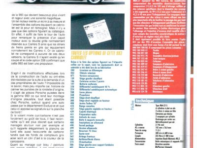 Porsche 993 3.8 Cabriolet X51 - <small></small> 135.000 € <small>TTC</small> - #16