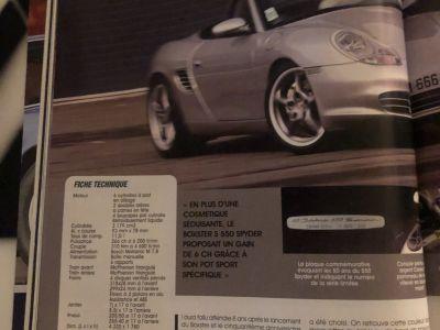 Porsche Boxster s spider 550 3.2i 266 numeroter - <small></small> 32.500 € <small>TTC</small> - #28