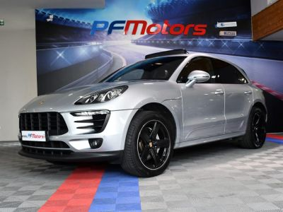 Porsche Macan S 3.0 V6 258 Phase 2 PDK GPS Bose Hayon PDLS TO Alarme Suspension Sport JA 20 - <small></small> 44.990 € <small>TTC</small> - #4