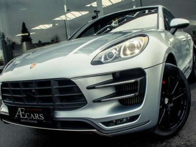 Porsche Macan TURBO - 1 OWNER - FULL - BURMESTER - BELGIAN - <small></small> 46.950 € <small>TTC</small> - #1
