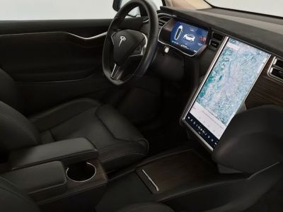 Tesla Model X 100D Dual Motor 699e par mois français première main TVA - <small></small> 72.500 € <small>TTC</small> - #4