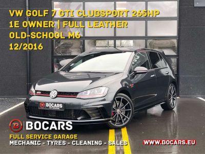 Volkswagen Golf GTI 2.0 TSI Clubsport | 1e owner | VERKOCHT - VENDU - SOLD - <small></small> 27.950 € <small>TTC</small> - #1