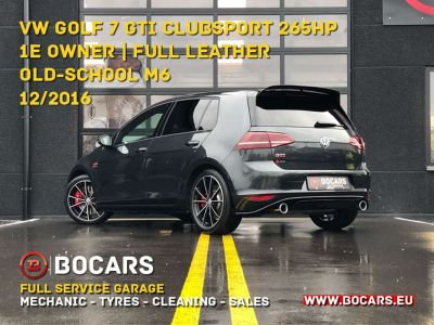 Volkswagen Golf GTI 2.0 TSI Clubsport | 1e owner | VERKOCHT - VENDU - SOLD - <small></small> 27.950 € <small>TTC</small> - #7
