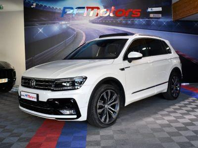 Volkswagen Tiguan II R-Line 2.0 Bi TDI 240 4Motion DSG 7 GPS Pro Virtual ACC DCC Hayon Dynaudio Attelage Front Lane JA 20 - <small></small> 34.990 € <small>TTC</small> - #3