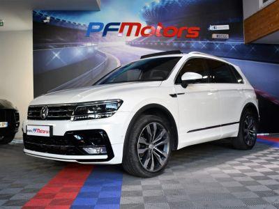 Volkswagen Tiguan II R-Line 2.0 Bi TDI 240 4Motion DSG 7 GPS Pro Virtual ACC DCC Hayon Dynaudio Attelage Front Lane JA 20 - <small></small> 34.990 € <small>TTC</small> - #4