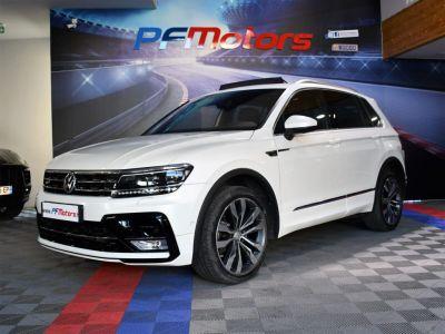 Volkswagen Tiguan II R-Line 2.0 Bi TDI 240 4Motion DSG 7 GPS Pro Virtual ACC DCC Hayon Dynaudio Attelage Front Lane JA 20 - <small></small> 34.990 € <small>TTC</small> - #5