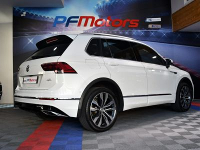 Volkswagen Tiguan II R-Line 2.0 Bi TDI 240 4Motion DSG 7 GPS Pro Virtual ACC DCC Hayon Dynaudio Attelage Front Lane JA 20 - <small></small> 34.990 € <small>TTC</small> - #21